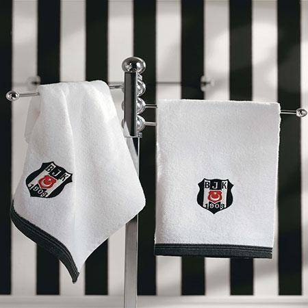 Taç Beşiktaş Banyo Havlusu