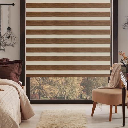 Taç Inova Kendini Temizleyen Bambu Zebra Stor Perde / 250TL (m²)