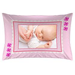Pinky Bebek Fotoğraf Baskılı Yastık Kılıfı