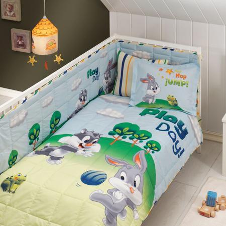 Taç Sylvester And Bugs Bunny Baby Uyku Seti