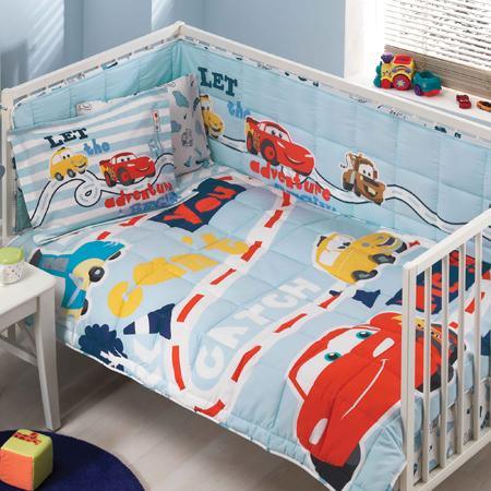 Taç Disney Cars Baby Uyku Seti