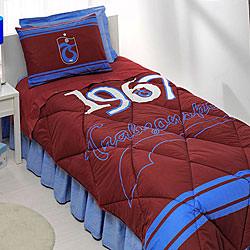 Taç Trabzonspor Logo Tek Kişilik Uyku Seti
