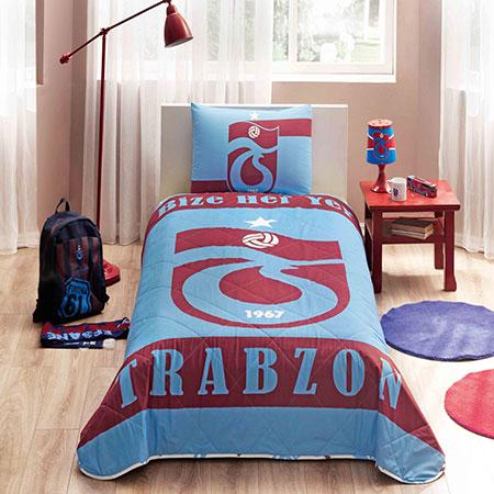 Taç Trabzonspor Bize Heryer Trabzon Yatak Örtüsü