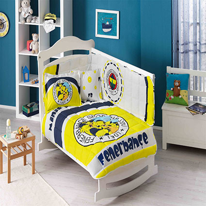 Taç Fenerbahçe Minik Kanarya Baby Uyku Seti