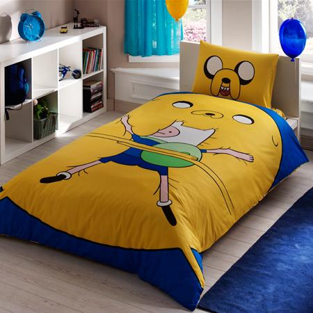 Taç   Adventure Time Nevresim Takımı