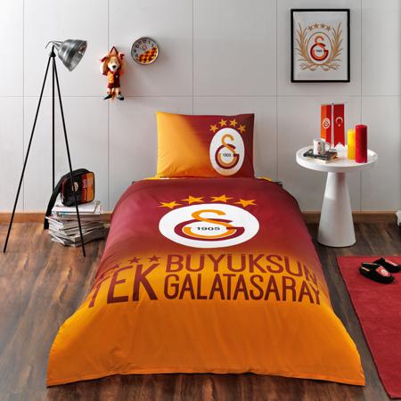 Lisanslı Galatasaray 4. Yıldız Tek Kişilik Nevresim Takımı