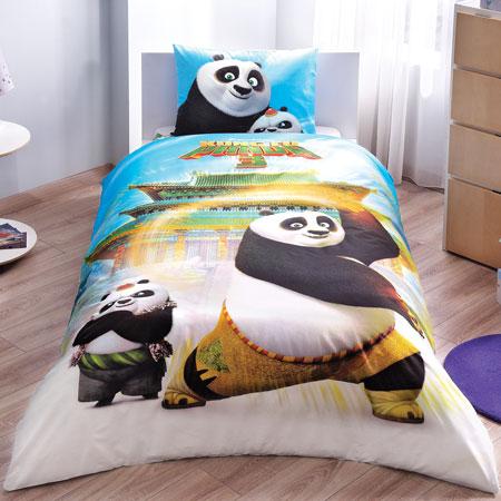 Taç Kung Fu Panda Movie Nevresim Takımı