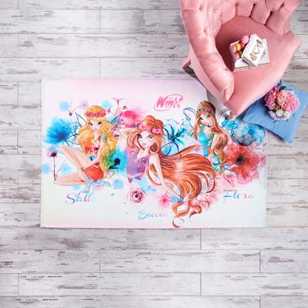 NoName Winx Water Color Halı