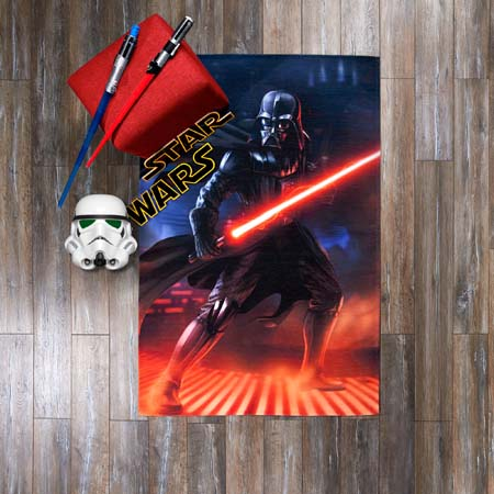 Lisanslı StarWars Movie Halı