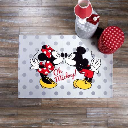 Minnie&Mickey Love Halı