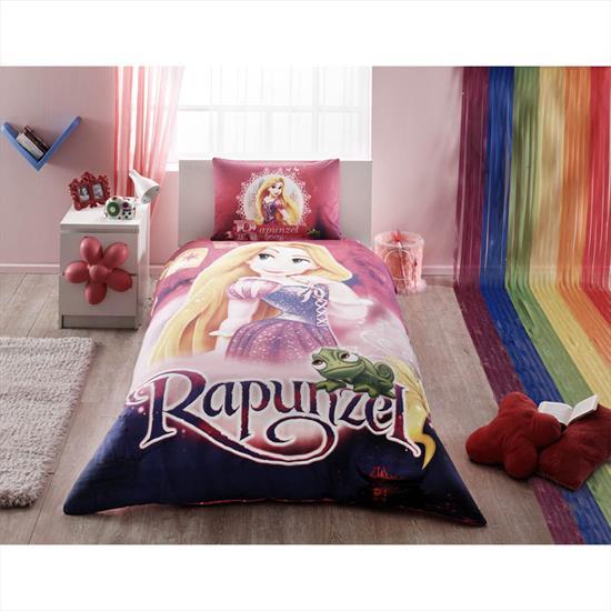 Taç Disney Rapunzel Nevresim Takımı