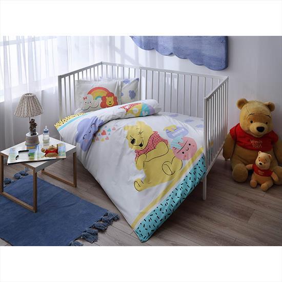 Taç Winnie The Pooh Hunny Baby Nevresim Takımı