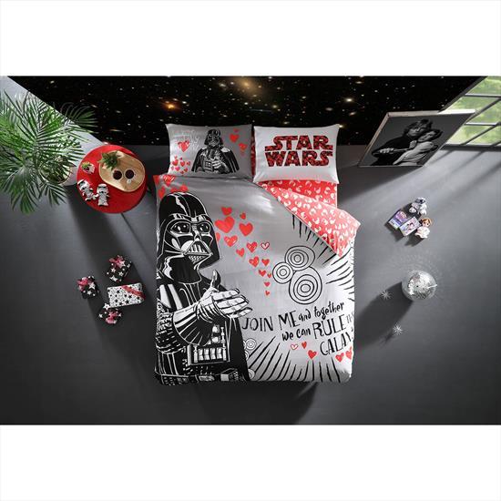 Taç Star Wars Valentine'S Day Çift Kişilik Nevresim Takımı