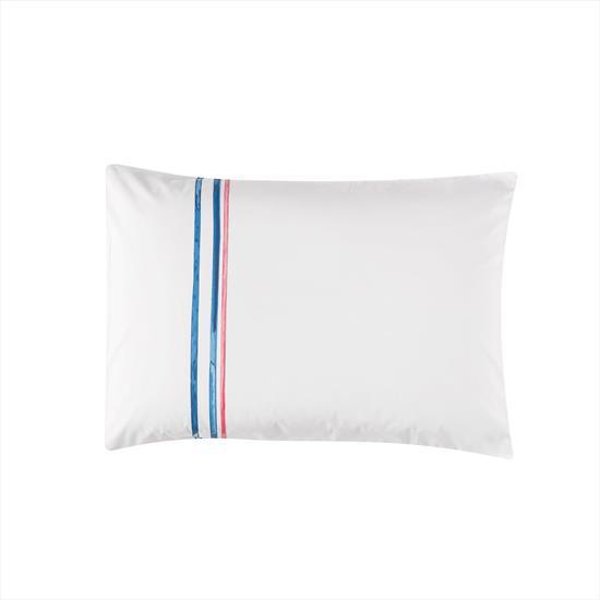 Taç Boutique Blue Stripe Yastık Kılıfı