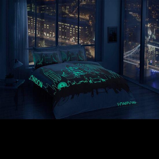 Taç Glow Saten London Nevresim Takımı