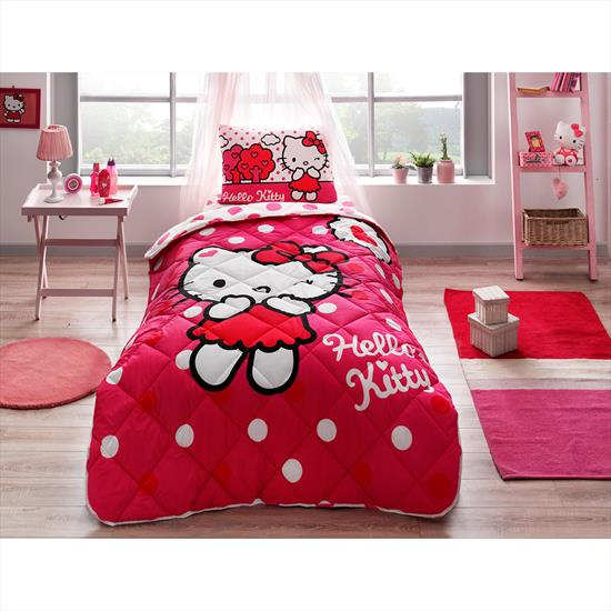 Taç Hello Kitty Yorgan Seti