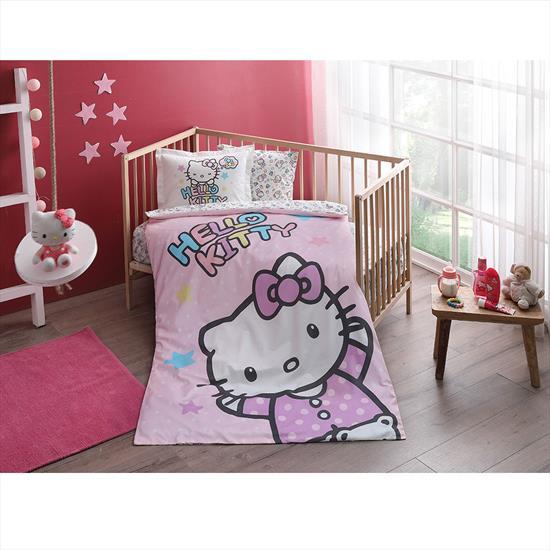 Taç Hello Kitty Baby Nevresim Takımı