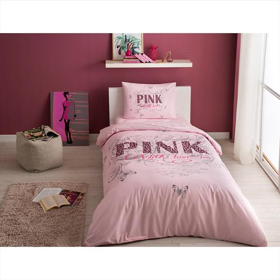 Taç Pink Nevresim Takımı