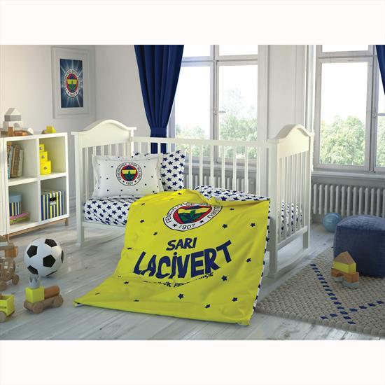 Taç Fenerbahçe Star Baby Bebek Nevresim Takımı