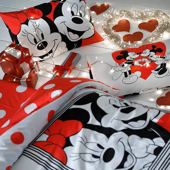 Picture of Taç Taç Disney Minnie&Mickey Dotty Çift Kişilik Nevresim Takımı