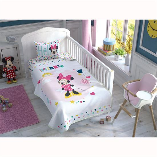 Taç Disney Minnie Color Baby Bebek Pike Takımı