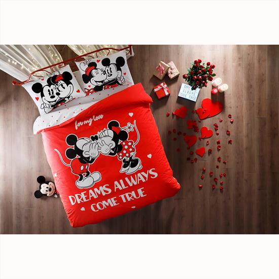 Taç Disney Minnie&Mickey Dreams Glow Nevresim Takımı
