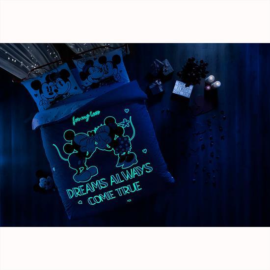 Picture of Taç Taç Disney Minnie&Mickey Dreams Glow Nevresim Takımı