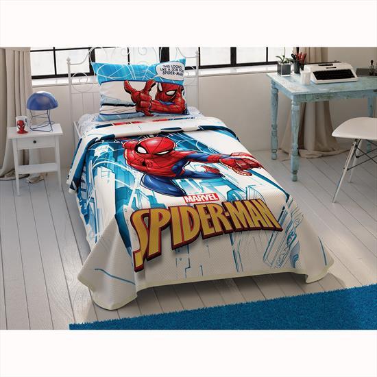 Taç Spiderman City Tek Kişilik Pike Takımı