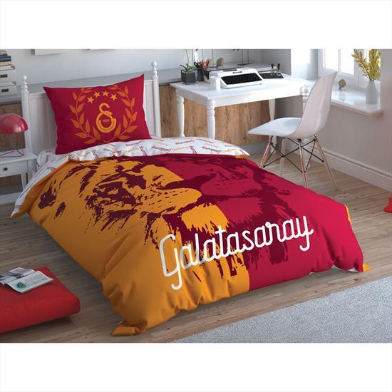 Taç Galatasaray Aslan Logo Nevresim Takımı