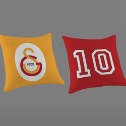 Galatasaray Logo Kırlent