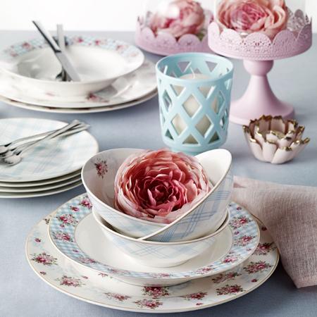 Pierre Cardin Camellia 24 Parça Yemek Takımı
