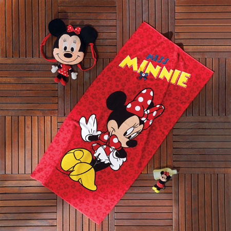 NoName Disney Miss Minnie Plaj Havlusu