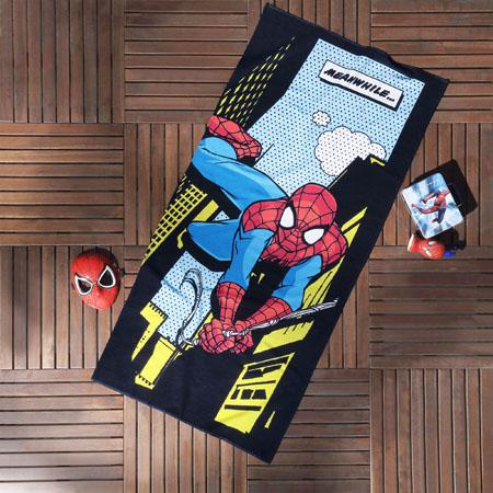 Spiderman Plaj Havlusu