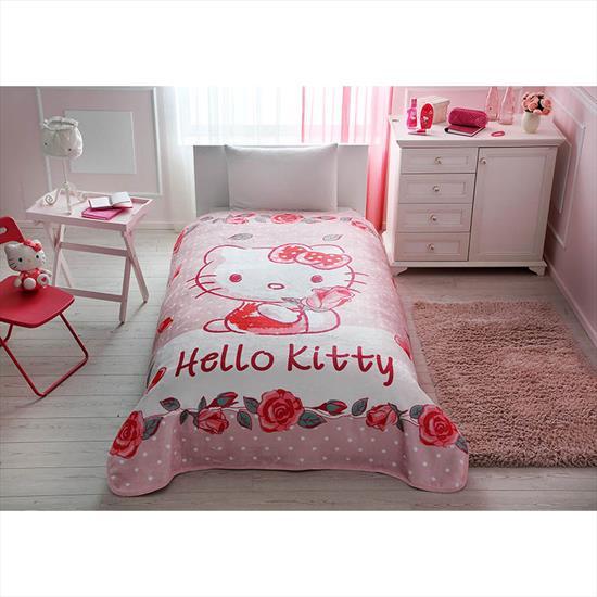 No Name Hello Kitty Rose Battaniye