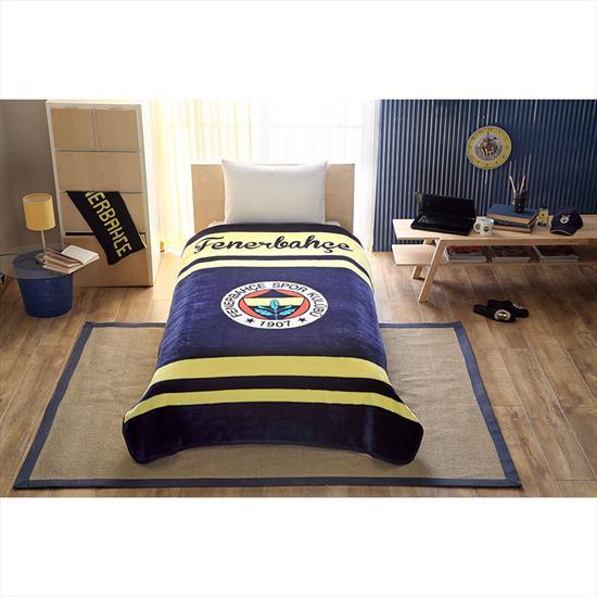 Fenerbahçe Logo Tek Kişilik Battaniye