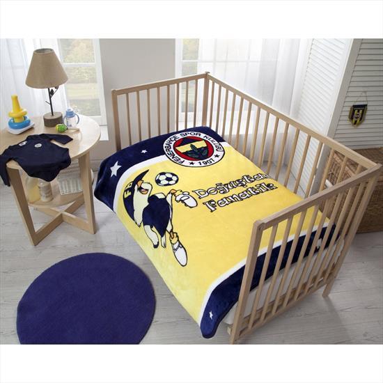 Fenerbahçe Fanatik Baby Battaniye