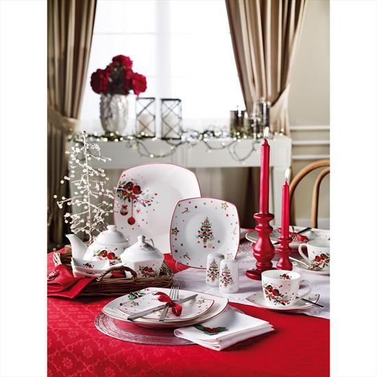 Pierre Cardin Christmas 43 Parça Kahvaltı Takımı