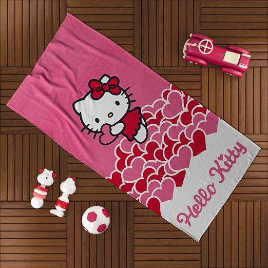 Hello Kitty Plaj Havlusu