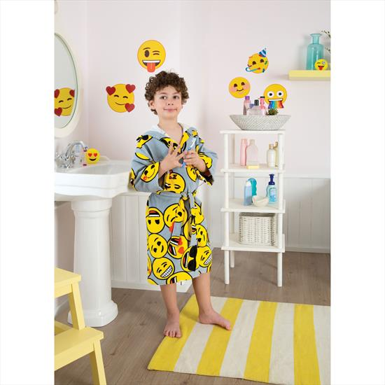 Taç Emoji Çocuk Bornoz