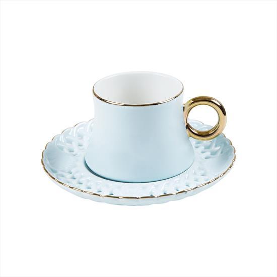 Pierre Cardin Spring Blue Kahve Fincan Seti