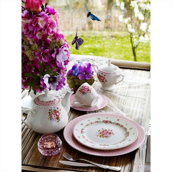 Pierre Cardin Dora Pink 49 Parça Kahvaltı Takımı