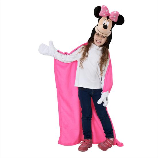 Linens Disney Minnie 3D Throw Battaniye