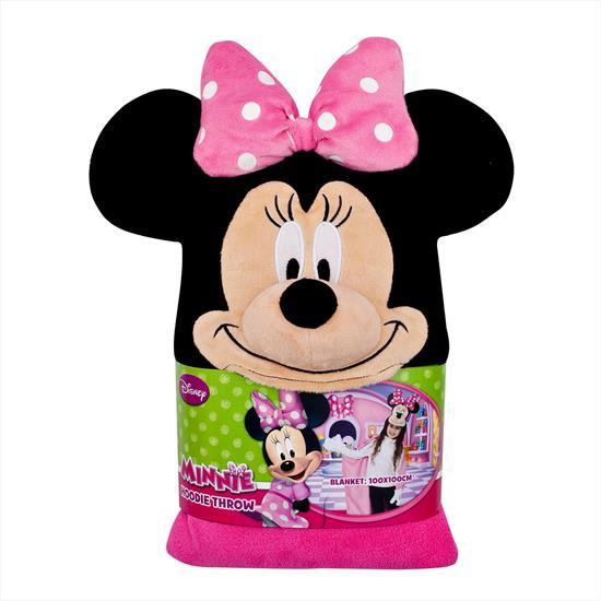 Picture of Linens Disney Minnie 3D TV Battaniyesi