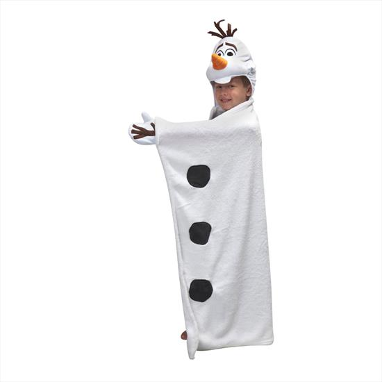 Linens Disney Frozen Olaf 3D Throw Battaniye