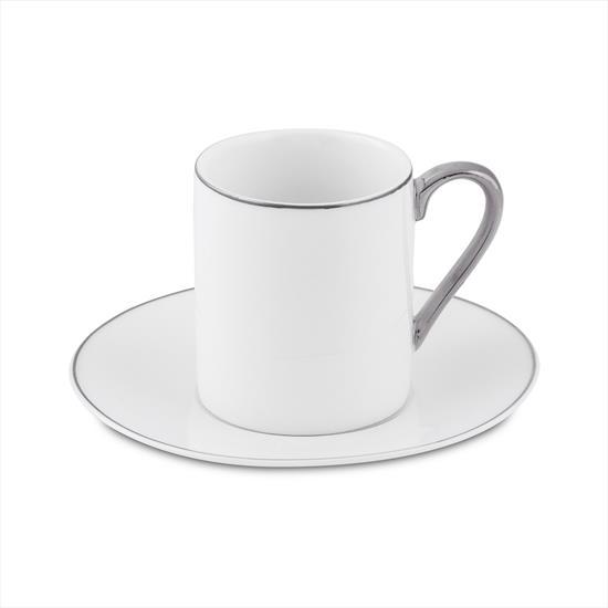 Bianca Luna Sweet Silver 6'lı Kahve Fincan Takımı