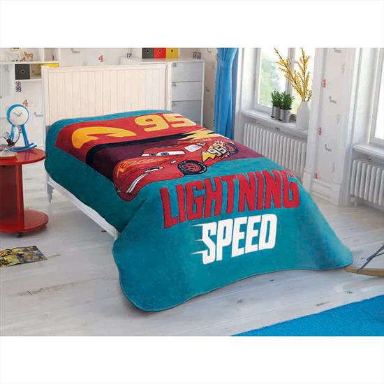 Taç Disney Cars Ligtning Speed Battaniye