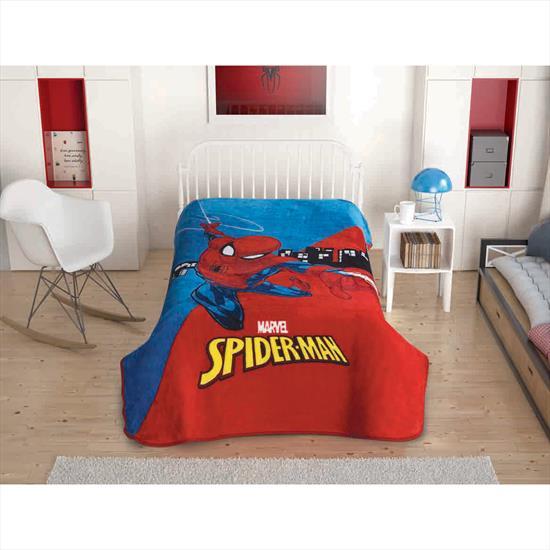 Taç Marvel Spiderman Battaniye
