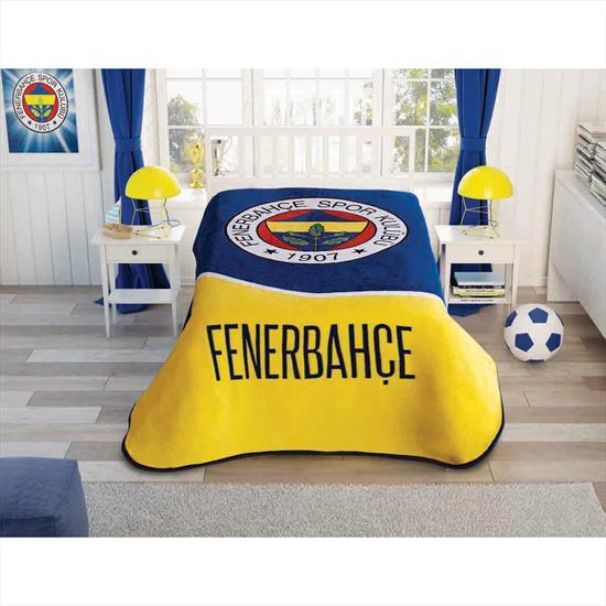 Fenerbahçe Kulüp Tek Kişilik Battaniye