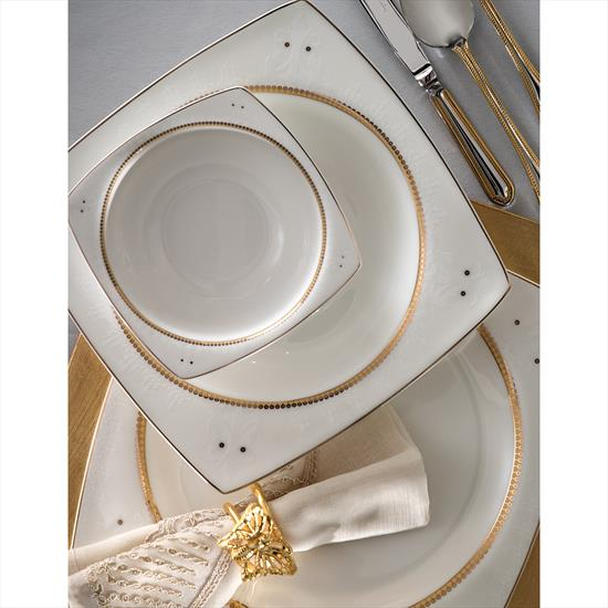 Pierre Cardin Elenor 12 Kişilik 60 Parça Bone China Yemek Takım